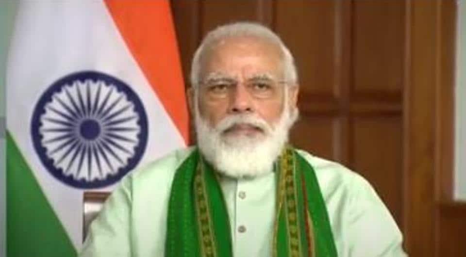 Prime Minsiter Narendra Modi.