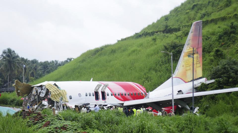 According to officials from Airports Authority of India (AAI), the aircraft touched down near a taxiway that is around 1,000 metres from the beginning of the runway, before breaking up into two pieces. Kozhikode airport has a tabletop runway.