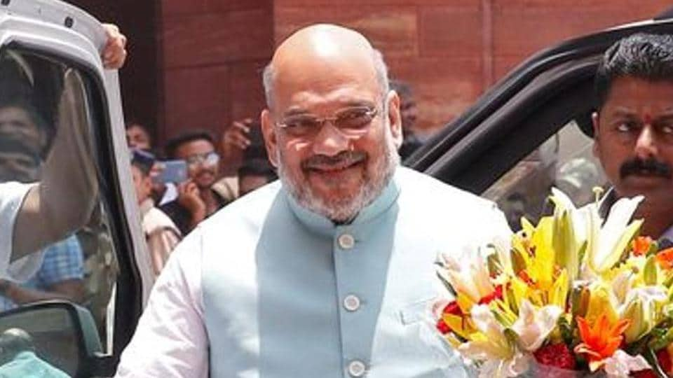 Home minister Amit Shah, who is recovering from the Covid-19 infection at a private hospital in Gurugram, on Sunday, lauded the Centre's move to put 101 items on embargo.