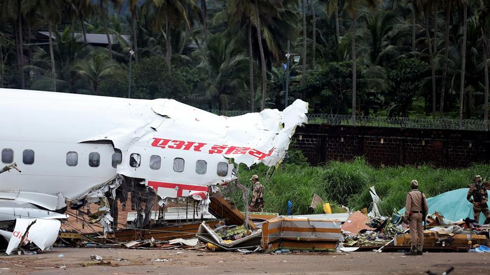 The Central Industrial Security Force (CISF) was the first responder to the crash site at Karipur airport.