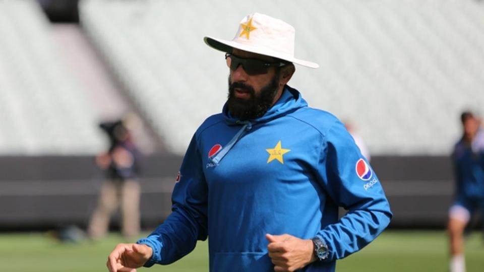 File image of Misbah-Ul-Haq