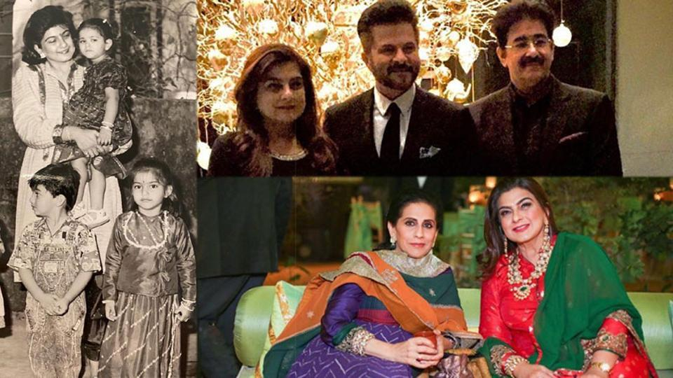 Anil Kapoor has shared several family pictures on Instagram.