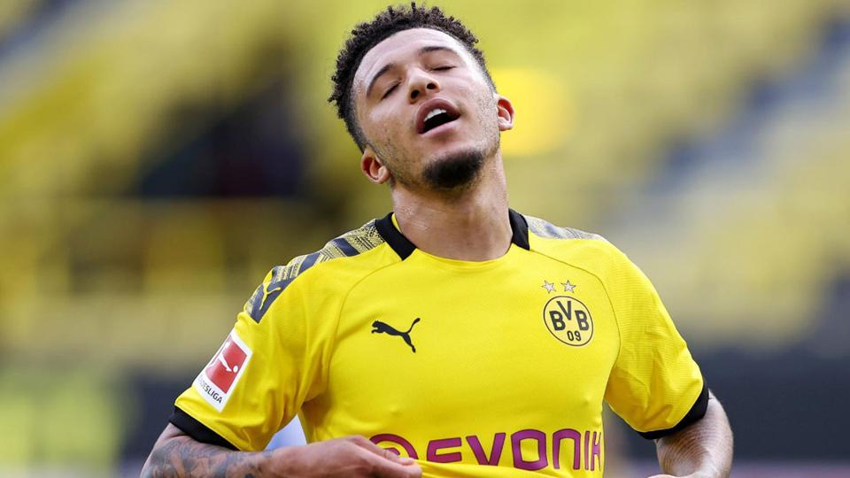 Jadon Sancho off to Dortmund's pre-season camp amid transfer speculation