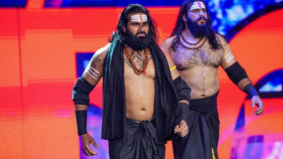 How Rinku Singh and Saurav Gurjar became WWE's Indus Sher - other sports - Hindustan Times