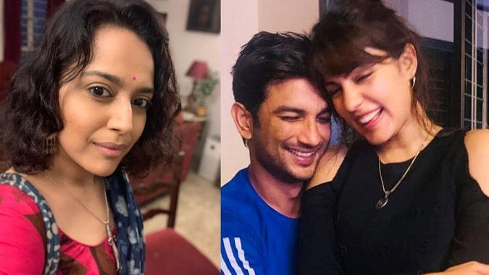 Swara Bhasker said Rhea Chakraborty is being subjected to a bizarre and dangerous media trial in Sushant Singh Rajput case.