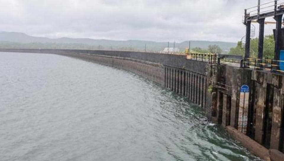 Khadakwasla dam in Pune. The dam's water storage touched 94.08 per cent on August 9.