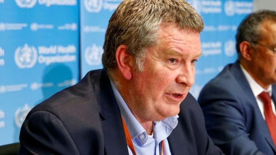 Executive Director of the World Health Organization's (WHO) emergencies program Mike Ryan speaks at a news conference on the novel coronavirus (2019-nCoV) in Geneva, Switzerland February 6, 2020.
