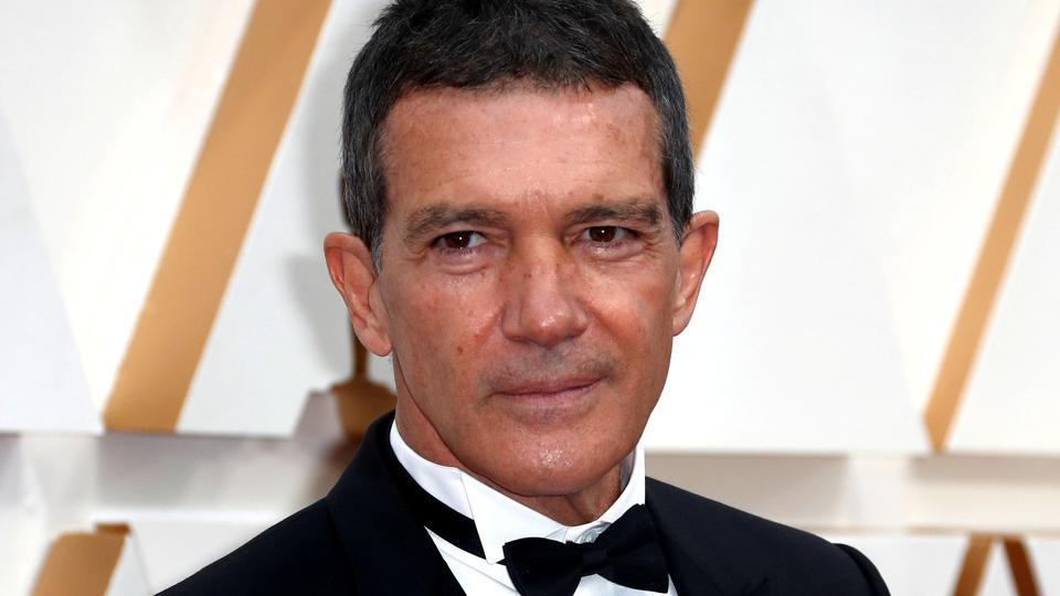 FILE PHOTO: Antonio Banderas in Dior poses on the red carpet during the Oscars arrivals at the 92nd Academy Awards in Hollywood.
