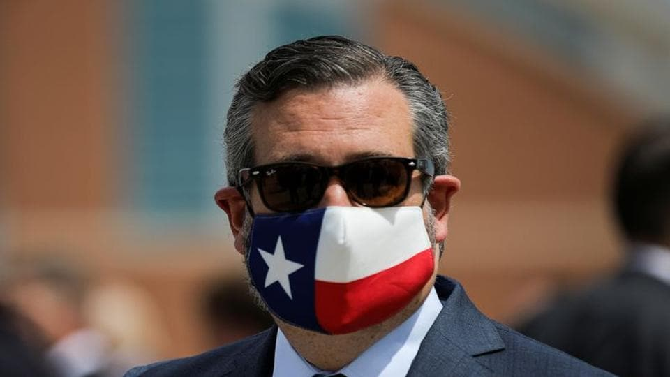 US senator Ted Cruz is among the US officials who have been sanctioned by China.