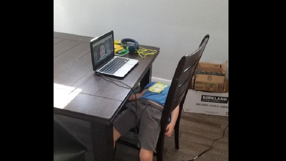 Posted on Twitter, this 5-year-old's photograph has piqued people's interest.