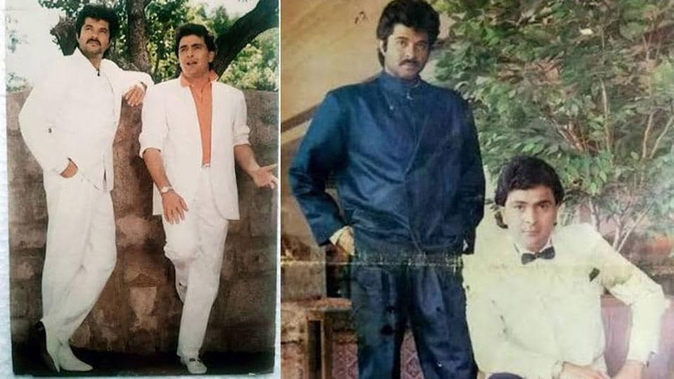 Anil Kapoor has shared throwback pictures with Anil Kapoor.