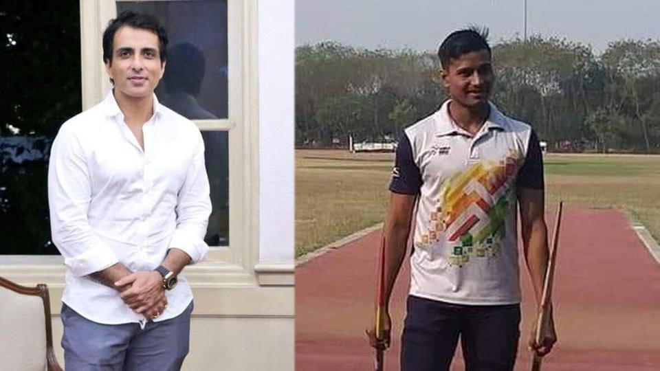 Sonu Sood has promised a knee surgery to javelin thrower Sudama.