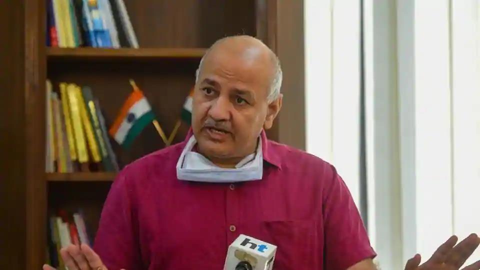 Delhi's Deputy Chief Minister Manish Sisodia (Amal KS / HTPhoto )