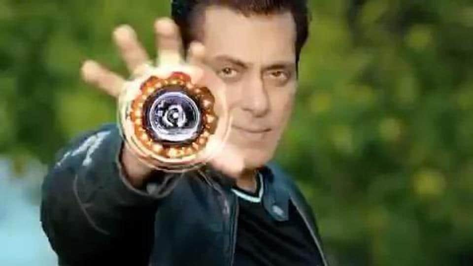 Salman Khan shoots for Bigg Boss 14 promo.