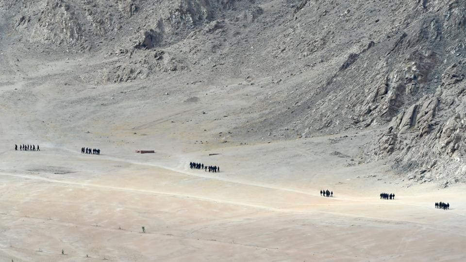 20 Indian soldiers were killed in clashes with Chinese forces in a deadly clash in eastern Ladakah on June 15.