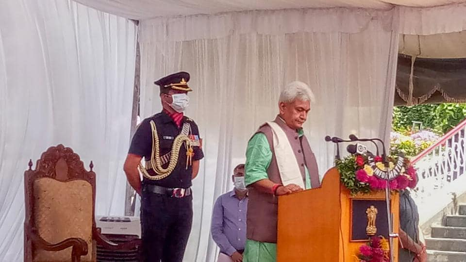 New L-G Manoj Sinha fuels hope of political revival in J&K – India news
