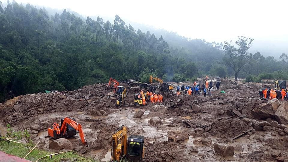 Opposition Congress and BJP had questioned discrepancy in relief in twin tragedies that struck Kerala on Friday.
