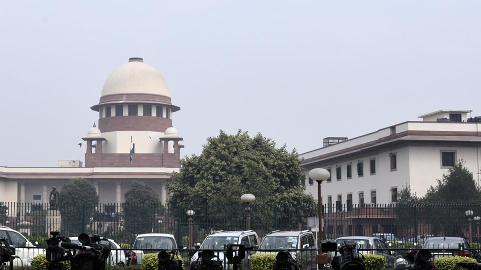 A view of the Indian Supreme Court, in New Delhi