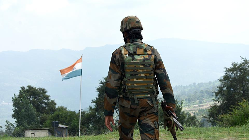 An Indian Army soldier was killed in an encounter with militants. He continued fighting despite being injured.