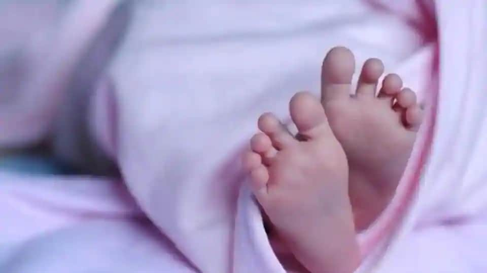 The newborn allegedly died after his swab sample was taken for a Covid-19 test.