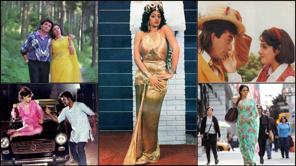Sridevi birth anniversary: The 5 iconic looks from Sridevi's onscreen avatars.