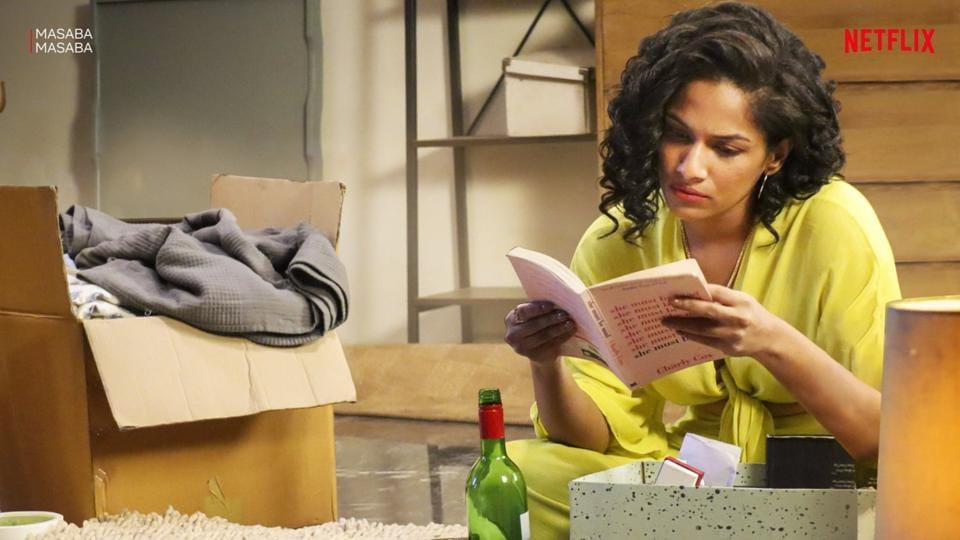 Masaba Gupta plays a fictionalised version of herself on the show.