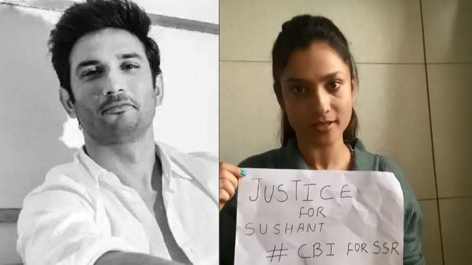 Ankita Lokhande is demanding a CBI inquiry into Sushant Singh Rajput case.
