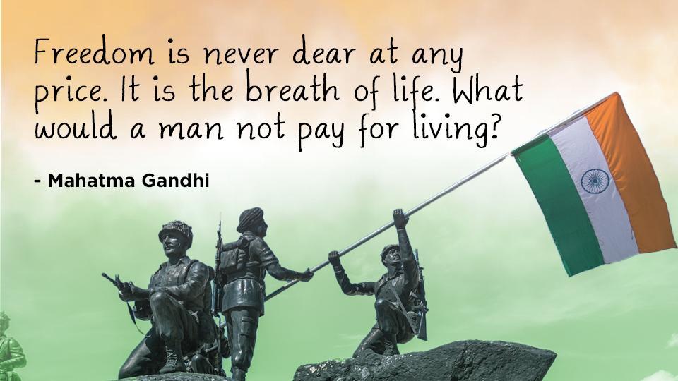 28+ Wallpaper Flag Happy Independence Day Mahatma Gandhi Pics