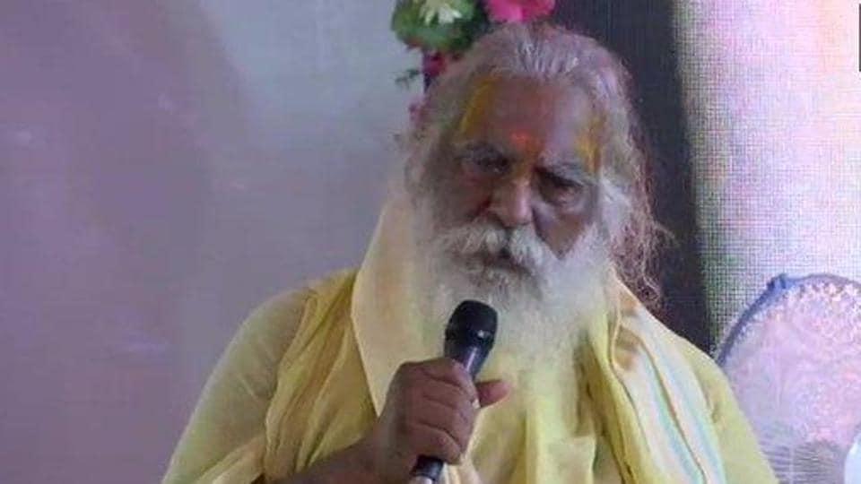 Shri Ram Janmabhoomi Teerth Kshetra chairperson Mahant Nritya Gopaldas.