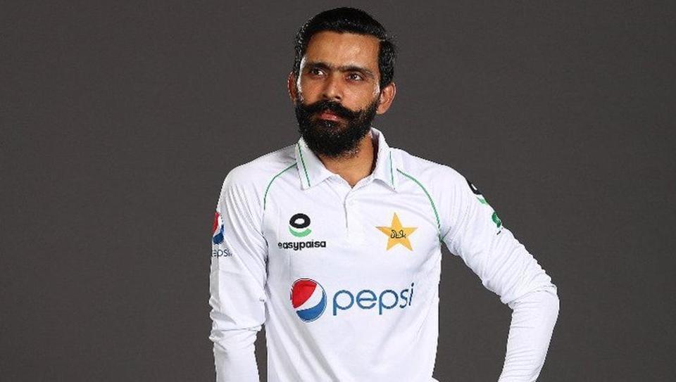Pakistan cricketer Fawad Alam.