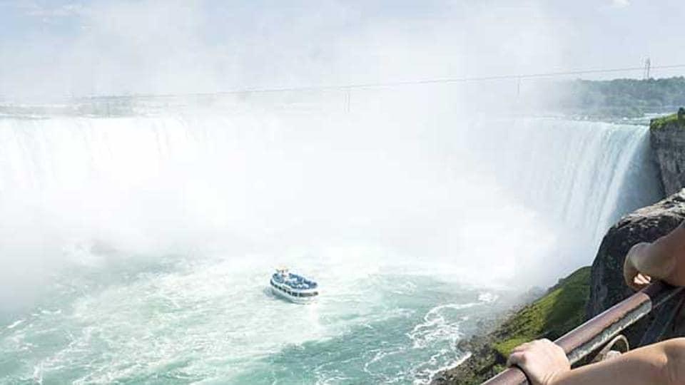 India's national flag will be hoisted at the Niagara falls on August 15, Independence Day.