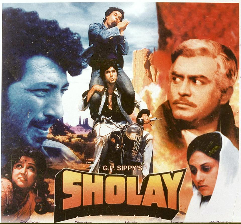 Sholay, a blockbuster 45 years on.