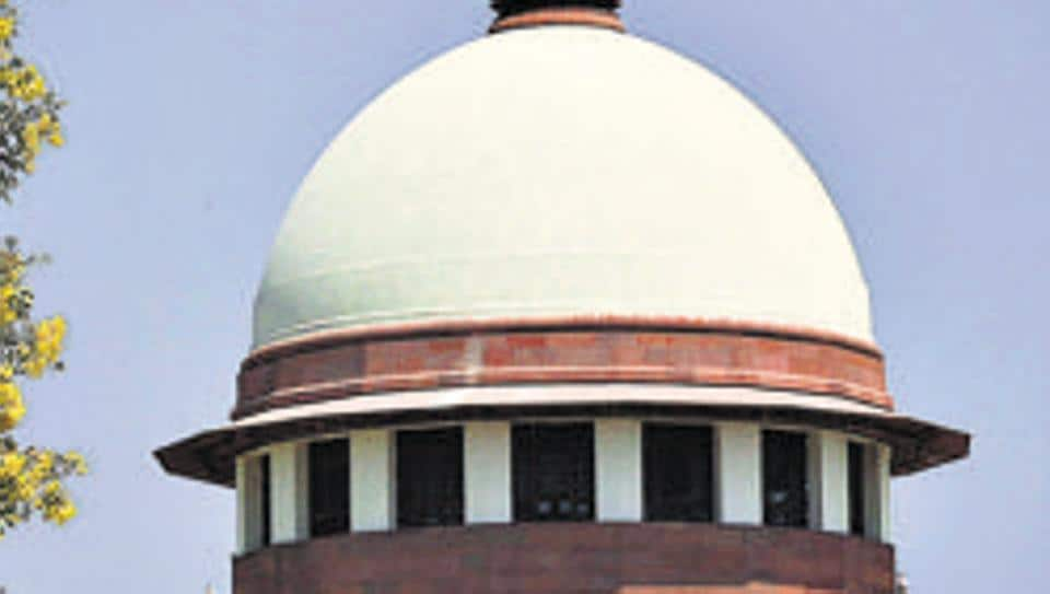 A view of the Supreme Court.