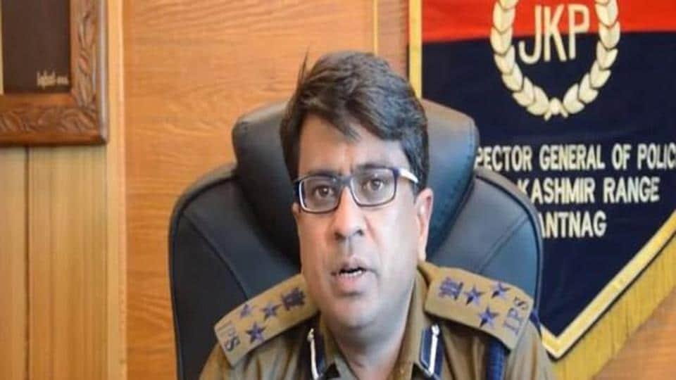 Deputy inspector general (DIG), South Kashmir Atul Kumar Goel.