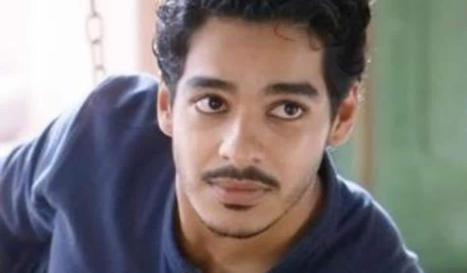 Ishaan wil play a young army officer in his next film.