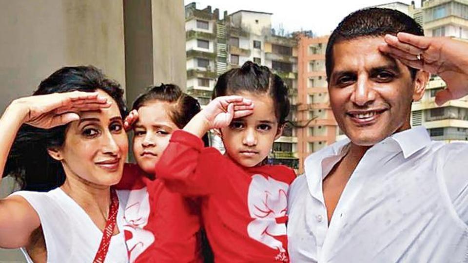 Actors Karanvir Bohra and Teejay Sidhu are parents to twin daughters Bella and Vienna