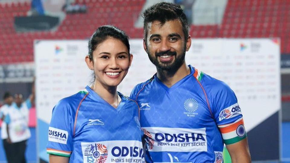 Manpreet Singh with Illi Saddique.