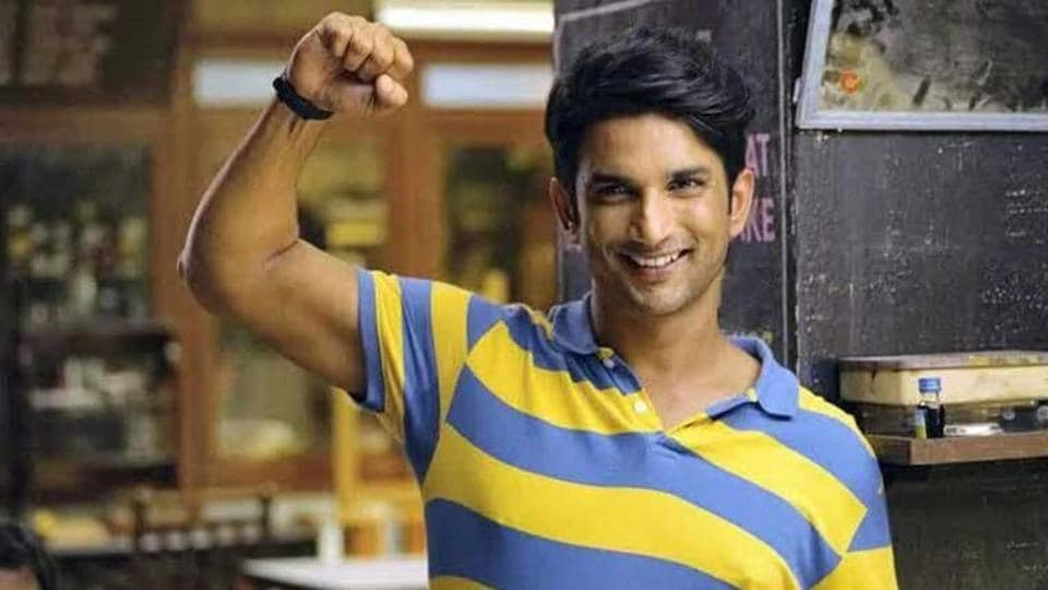 Sushant Singh Rajput in a still from his film Chhichhore.
