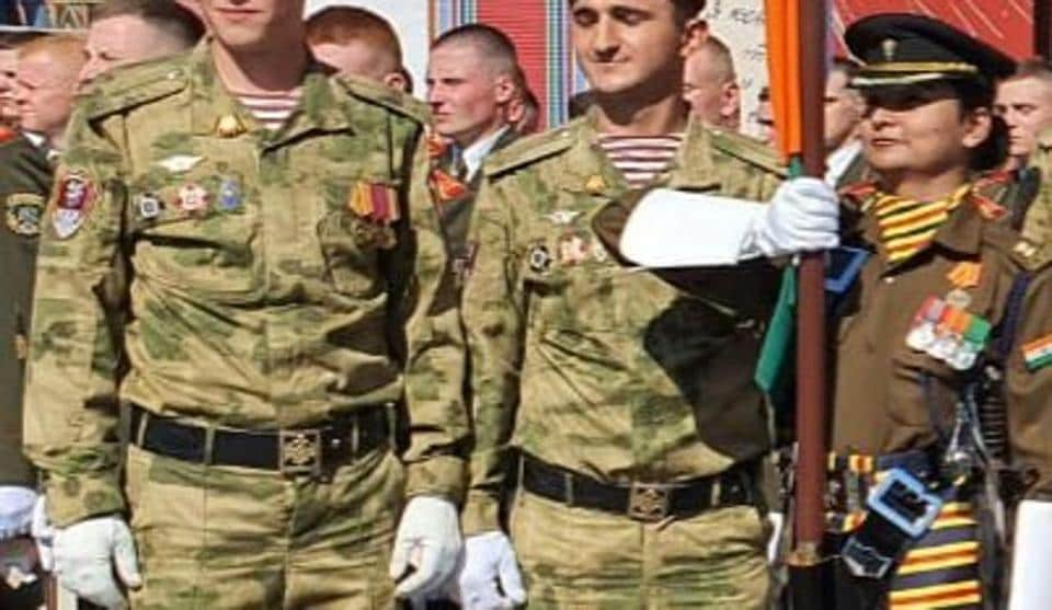 Major Shweta Pandey had led the Indian contingent in Russia earlier this year in June.