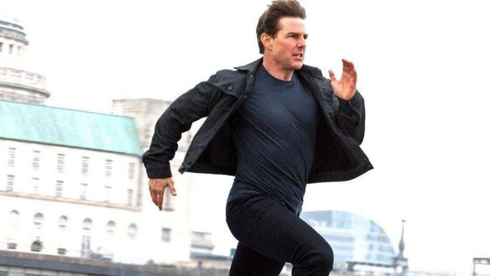 Tom Cruise in a still from Mission: Impossible - Fallout.