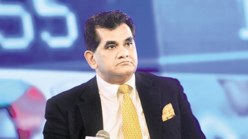 Amitabh Kant CEO NITI AAYOG, Photographed by  2nd Feb 2017