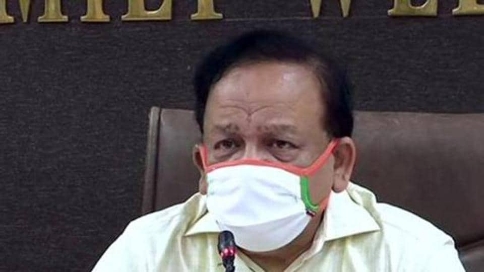 """""""Yesterday, we tested over 8 lakh patients, which was huge compared to April when we tested 6,000 patients. Our Covid warriors are fighting very hard to control the pandemic. Am sure in the next two months the situation will be far better, """"  the health minister said."""