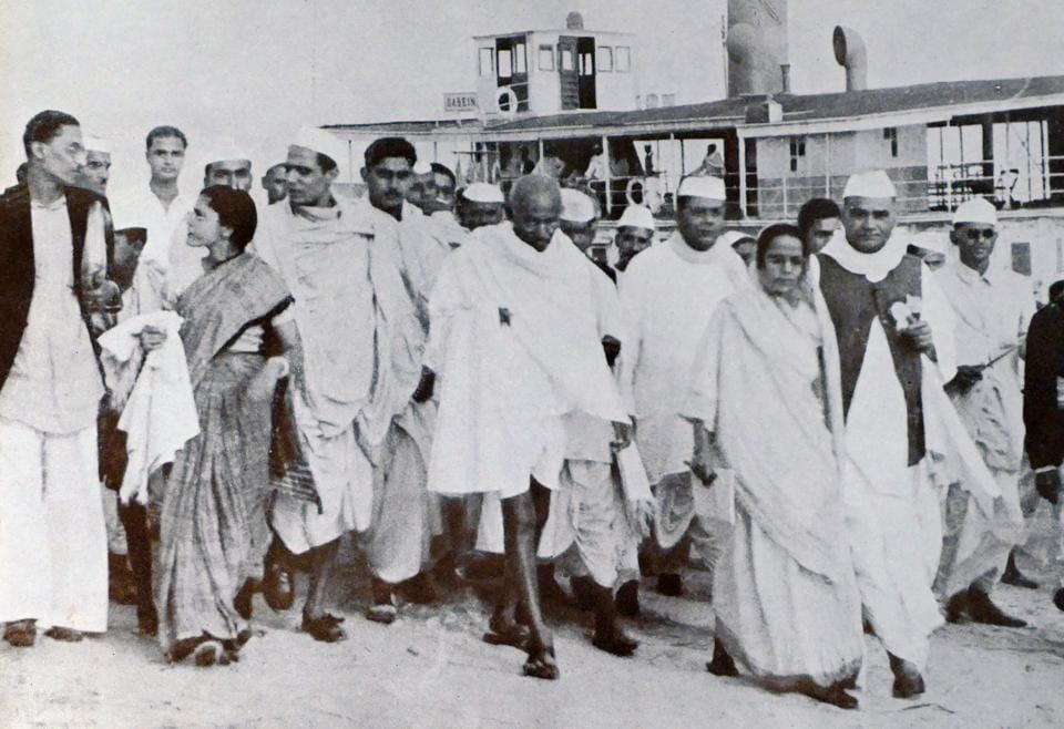 For the Mahatma, the meaning of Independence, nation and religion