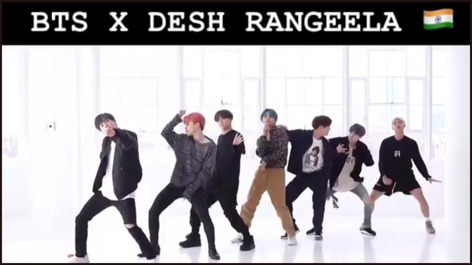 BTS dance on Des Rangila to wish Indian fans a 'Happy Independence Day'