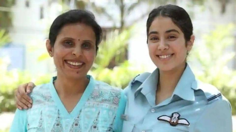 NCW chief wants a better portrayal of the forces in the film Gunjan Saxena: The Kargil Girl, starring Janhvi Kapoor in the lead.