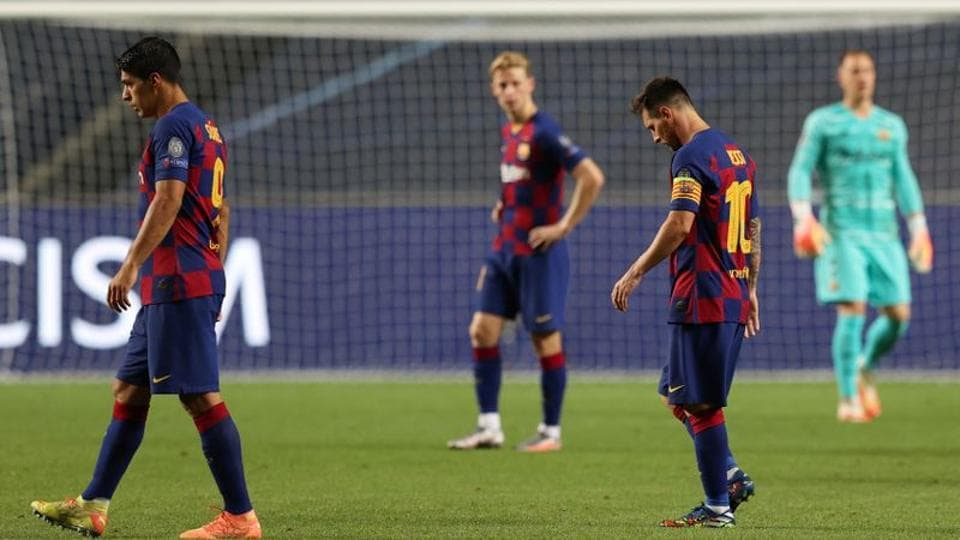 Bayern Debacle Was Barcelona S Worst Defeat In Almost 80 Years Football Hindustan Times