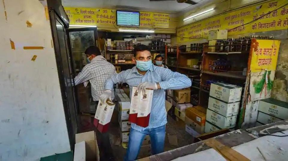 Barring shops in Chennai and other suburban areas falling under the jurisdiction of Greater Chennai Police, liquor outlets in the rest of Tamil Nadu were reopened on May 7.