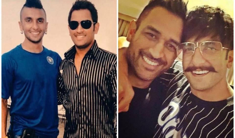 Ranveer Singh was around 22 years old when he first met MSDhoni.