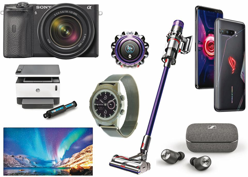 All the gadgets are fairly recent in release and are readily available in India.