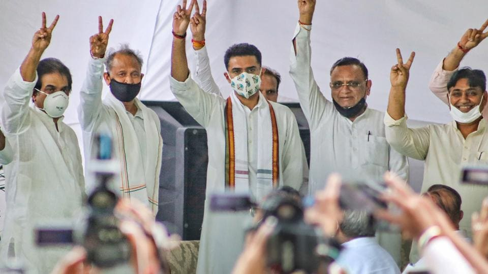 Sachin Pilot returned to the Congress fold ending the crisis in Rajasthan unit of the party after a meeting with Rahul Gandhi.